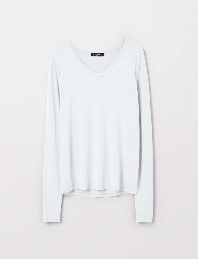 Hapalan T-Shirt in Bright White from Tiger of Sweden