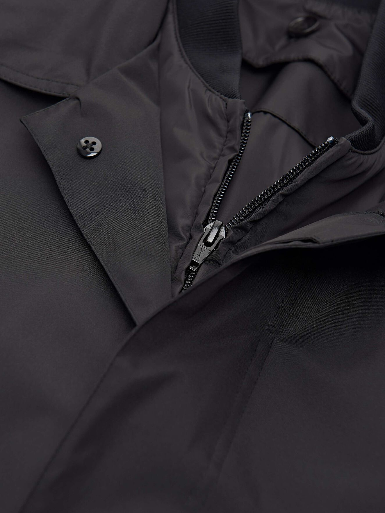 Crandall Coat in Black from Tiger of Sweden