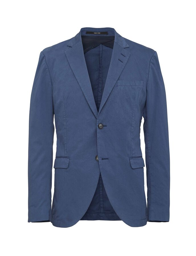 LAMONTE 4 BLAZER in Soft Blue Melange from Tiger of Sweden