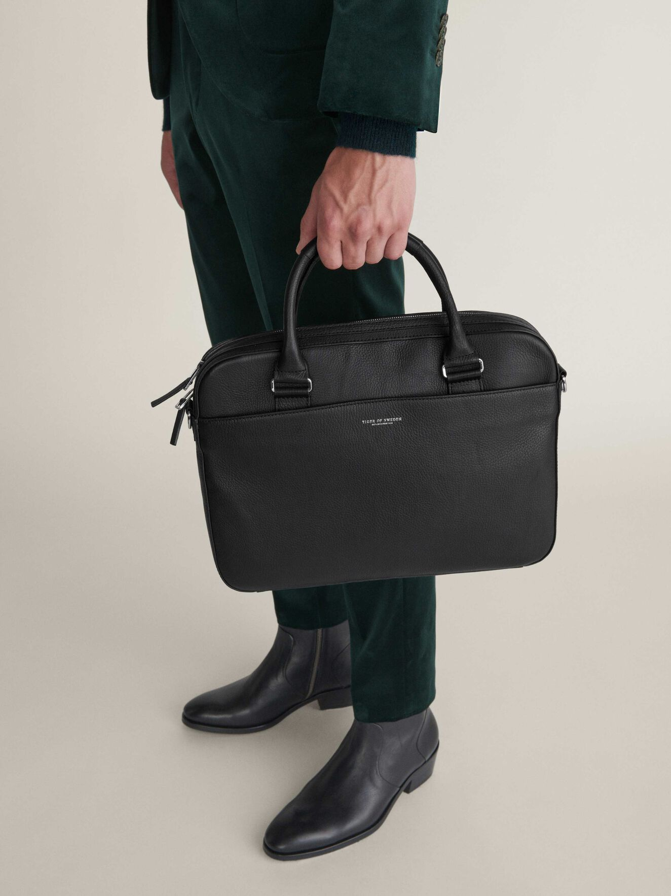 Dalio 2 Briefcase in Black from Tiger of Sweden