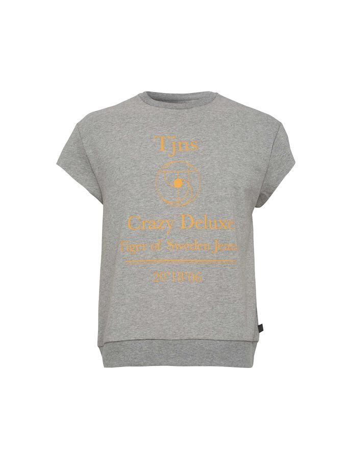 SKIP SWEATSHIRT in Grey melange from Tiger of Sweden