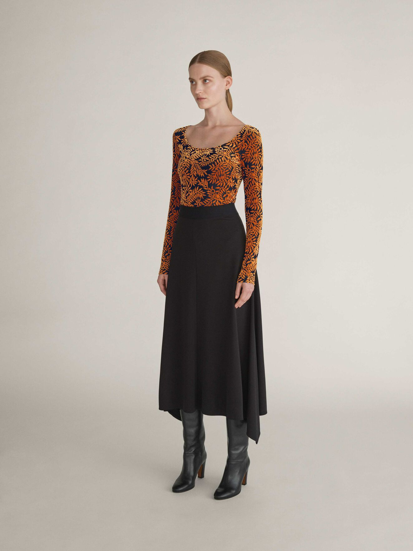 Mable Skirt in Midnight Black from Tiger of Sweden