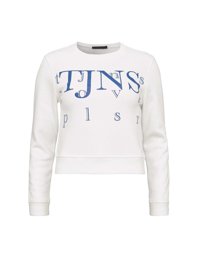 KILLAH PR SWEATSHIRT in White Light from Tiger of Sweden