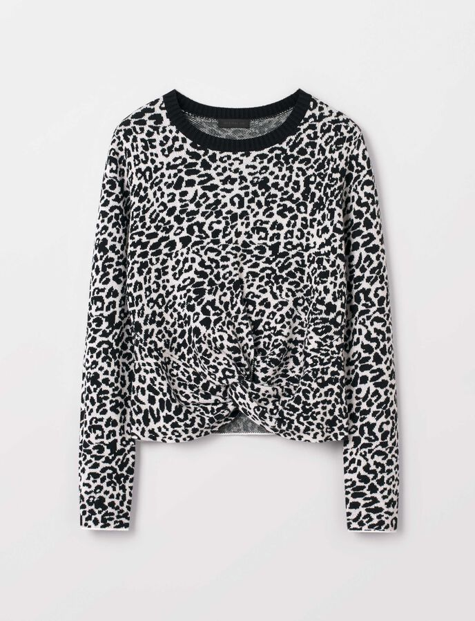 Tessie Leo Pullover in Pattern from Tiger of Sweden