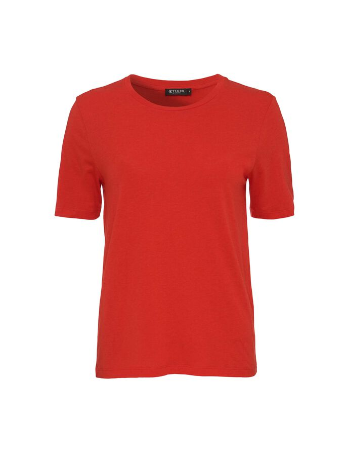 DEIRA T-SHIRT in Flame Red from Tiger of Sweden