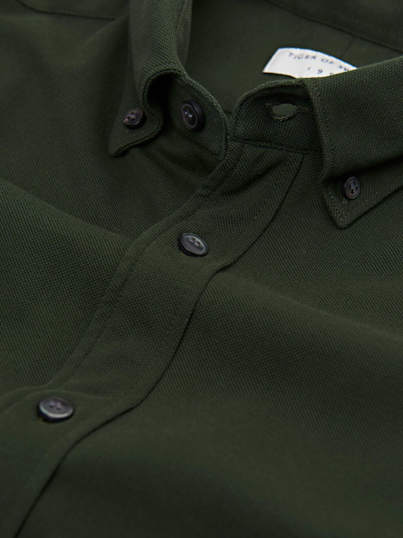 Fenald Shirt in Military Green from Tiger of Sweden