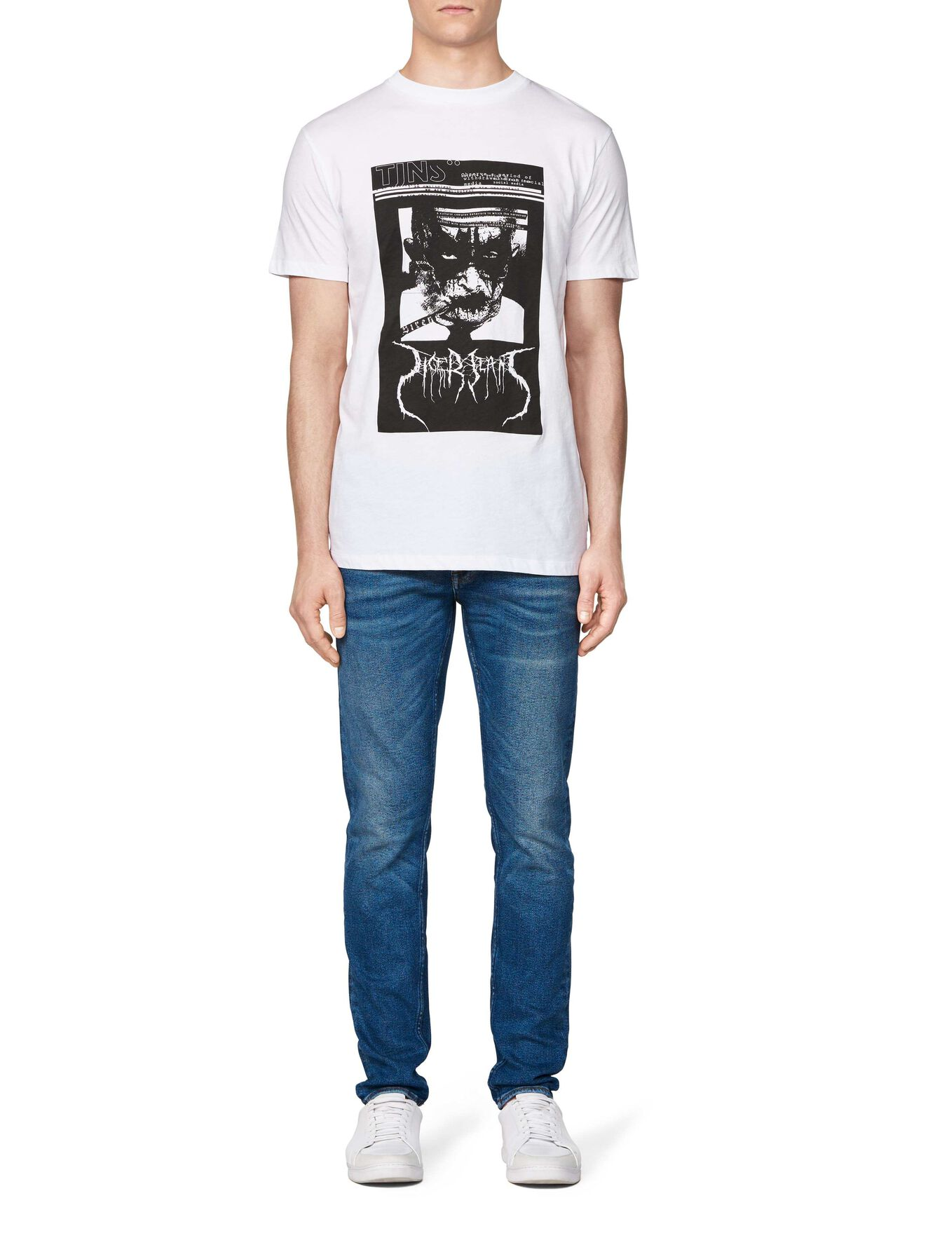FLEEK T-SHIRT in White from Tiger of Sweden
