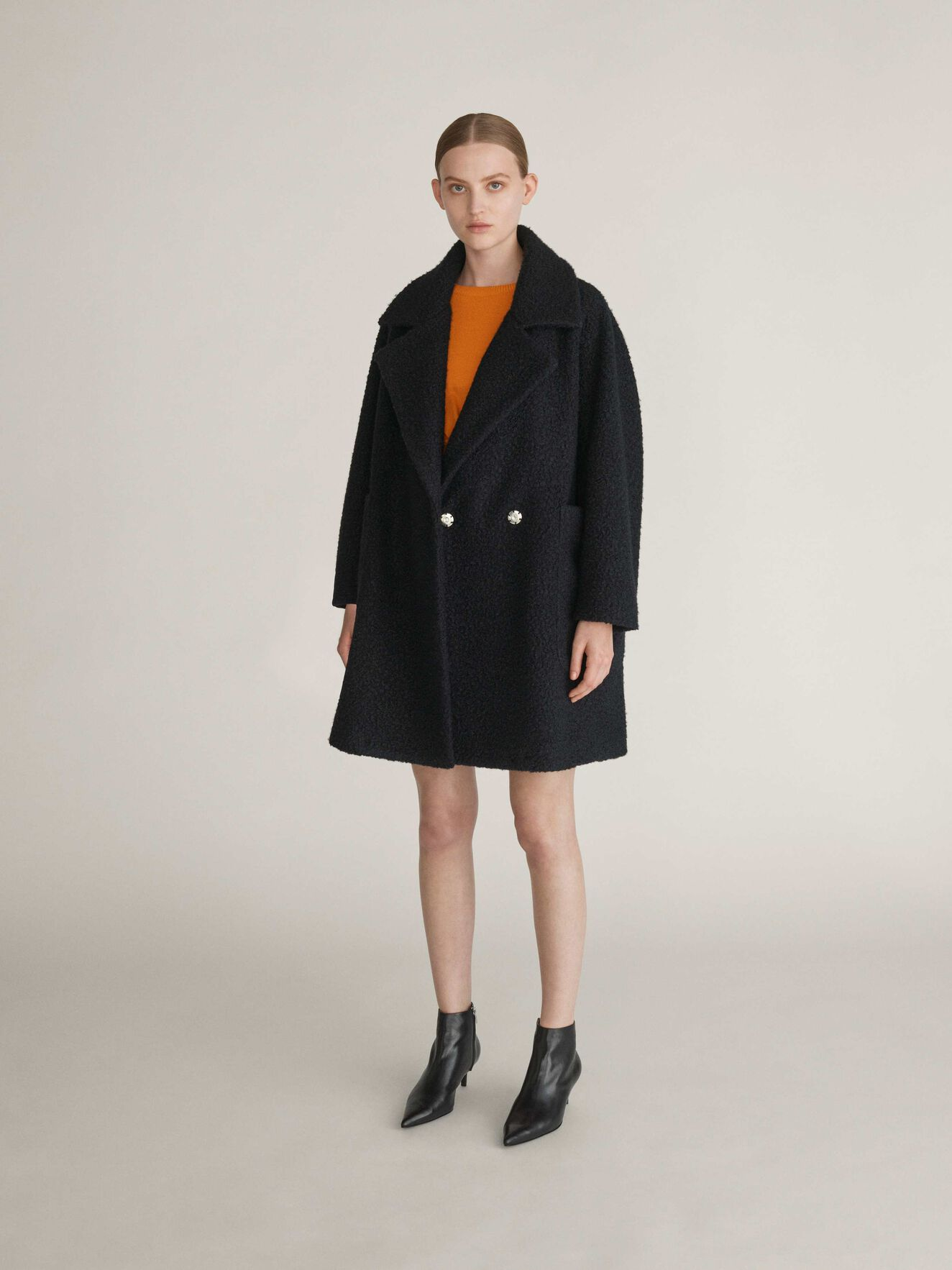Calla Coat in Black from Tiger of Sweden