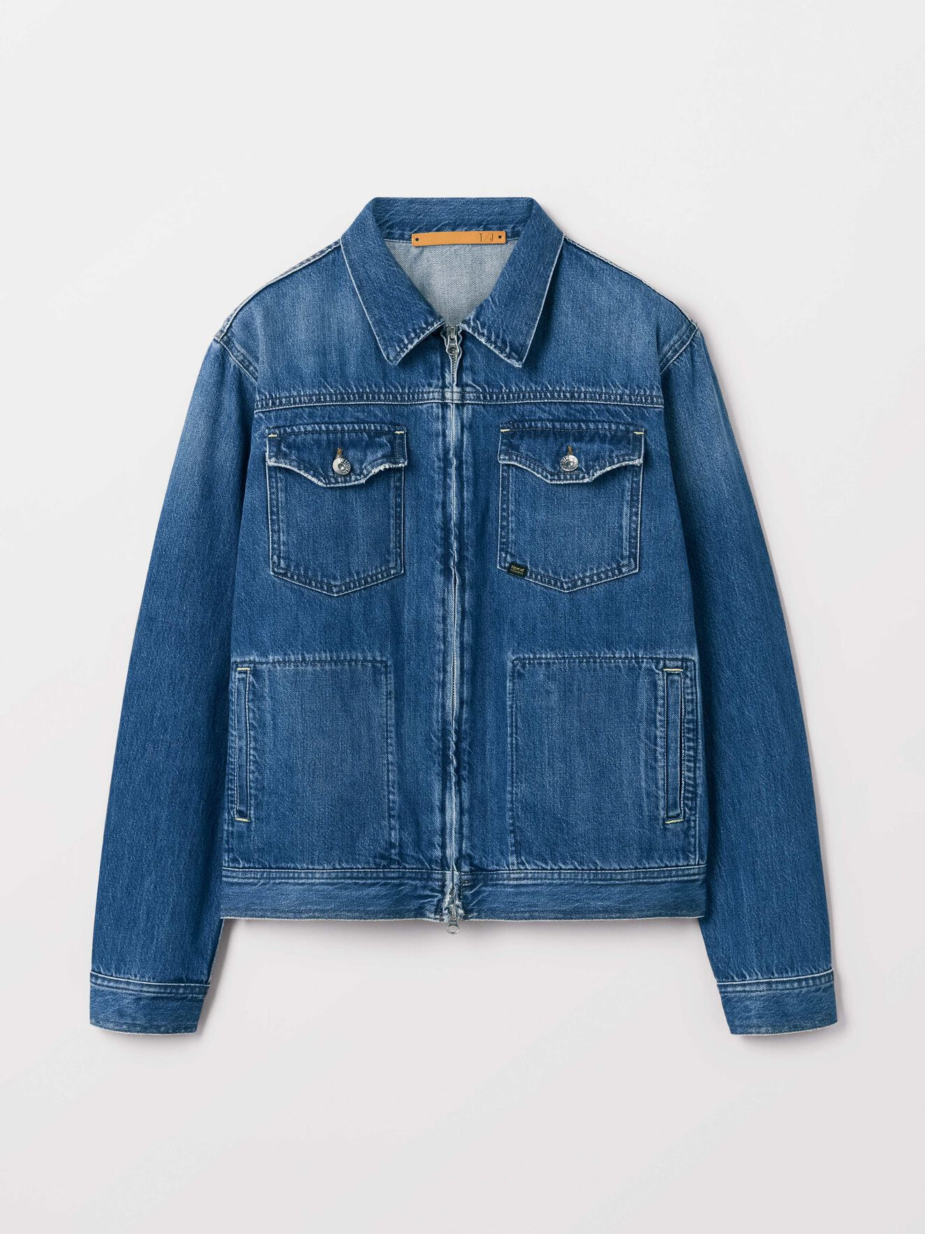 Crust Jacket in Dust blue from Tiger of Sweden