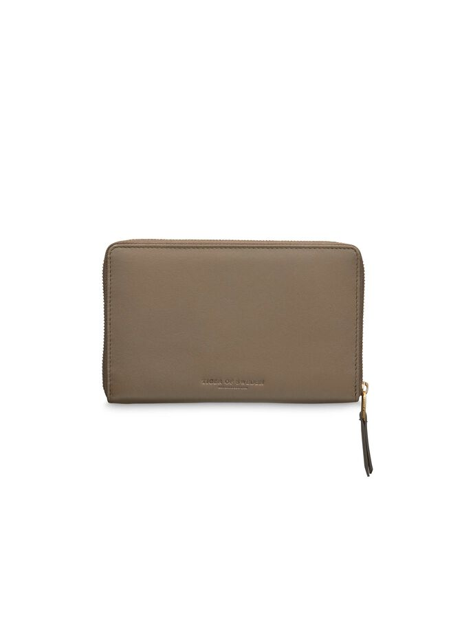 CHESHIRE WALLET in Moss Green from Tiger of Sweden