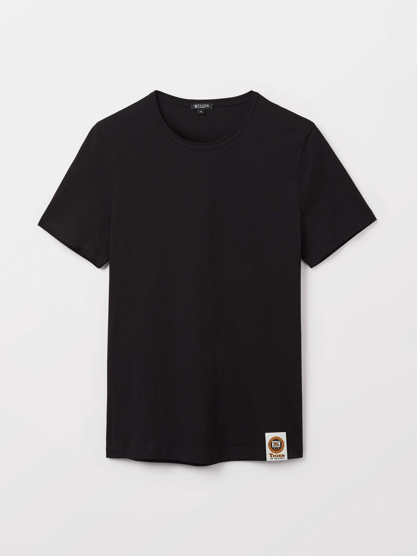 Darian T-Shirt in Black from Tiger of Sweden