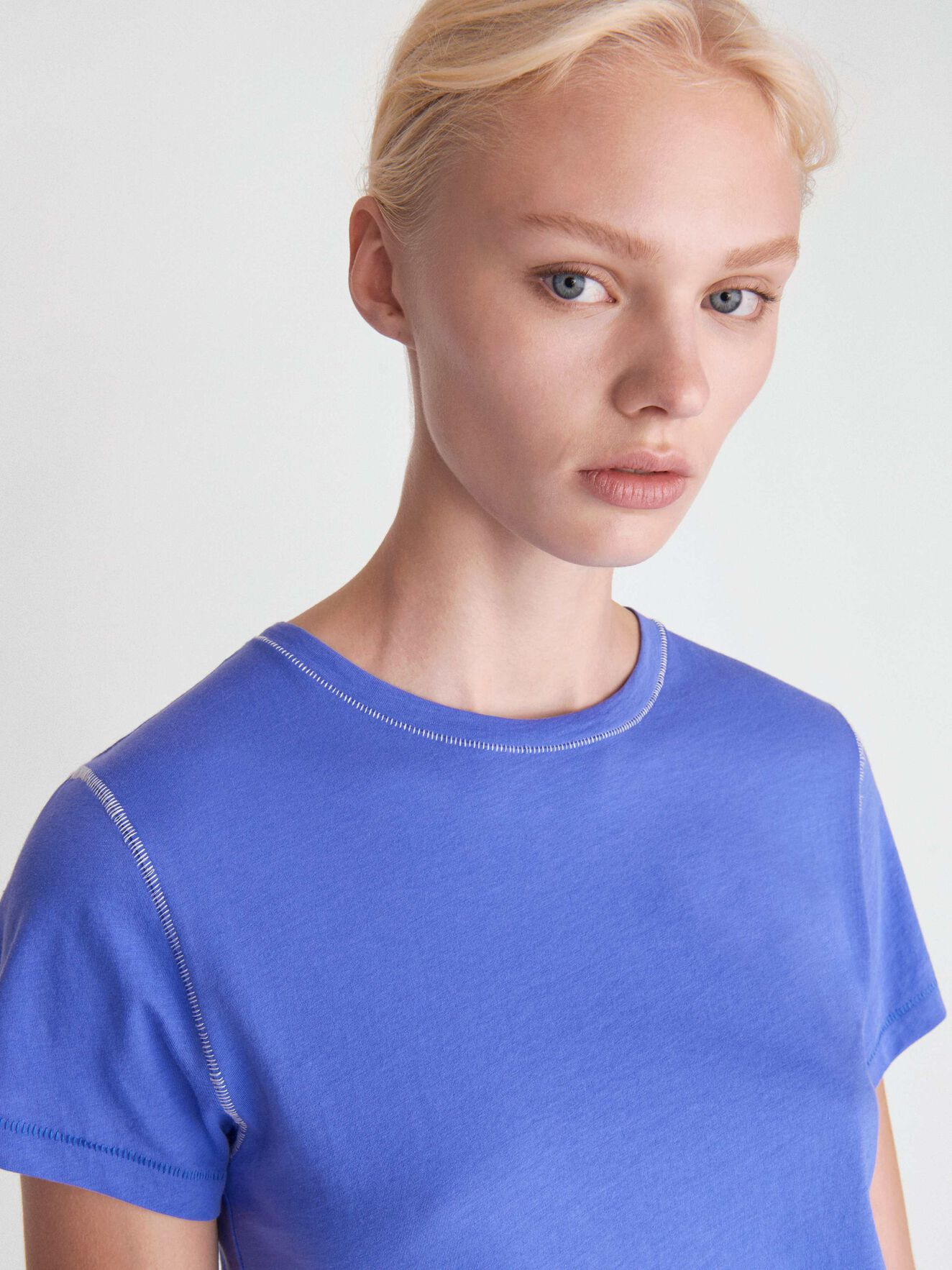 Nice T-Shirt in Violet Storm from Tiger of Sweden