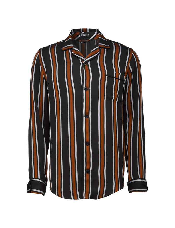 EARIE SHIRT in Black from Tiger of Sweden