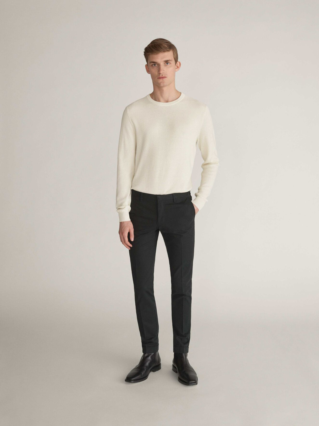 Tretton Trousers in Black from Tiger of Sweden