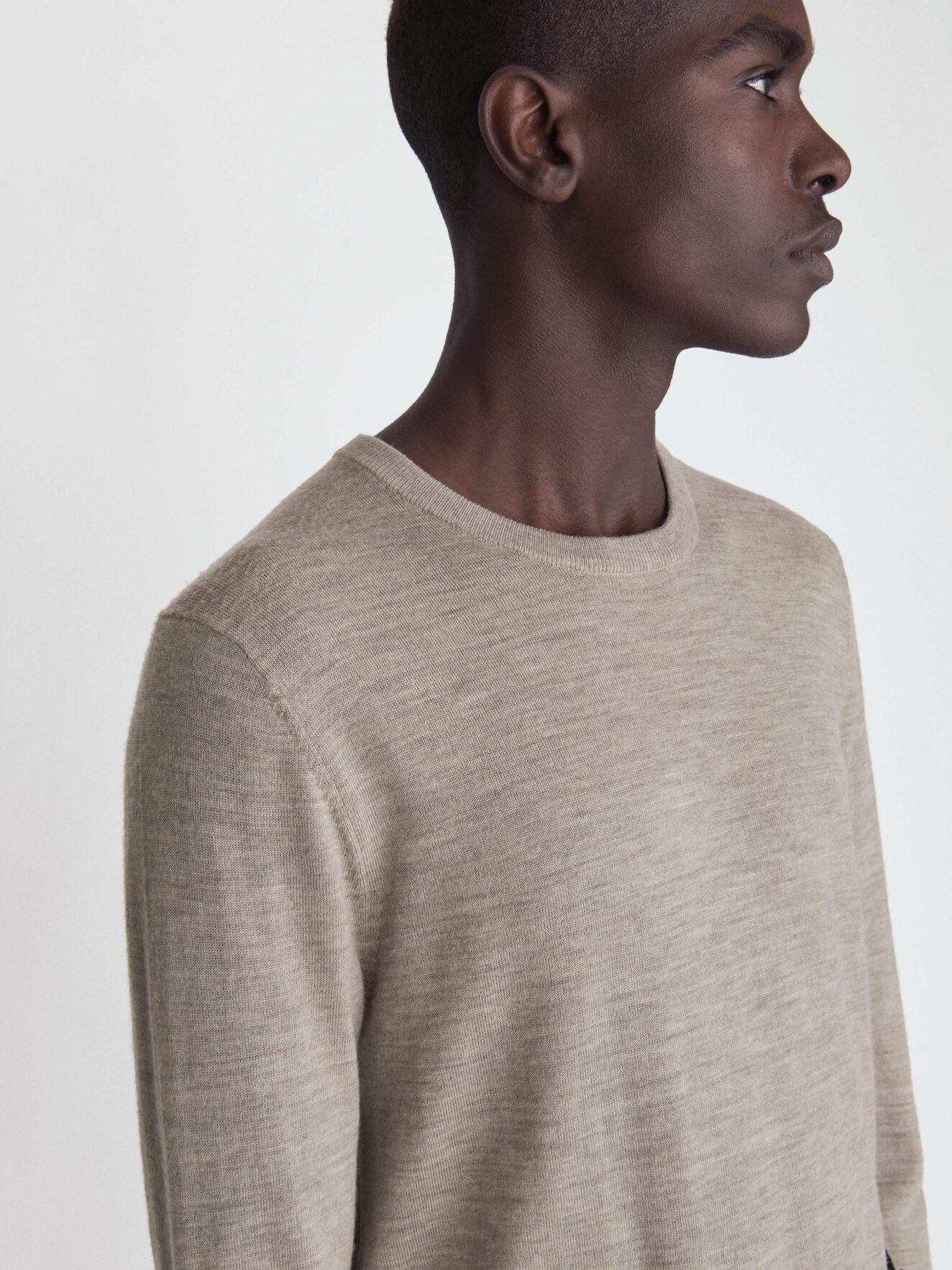 Nichols Pullover in Irish Cream from Tiger of Sweden
