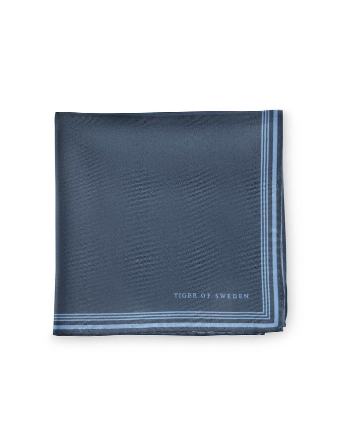SIGFRIDO HANDKERCHIEF  in Mist Blue from Tiger of Sweden