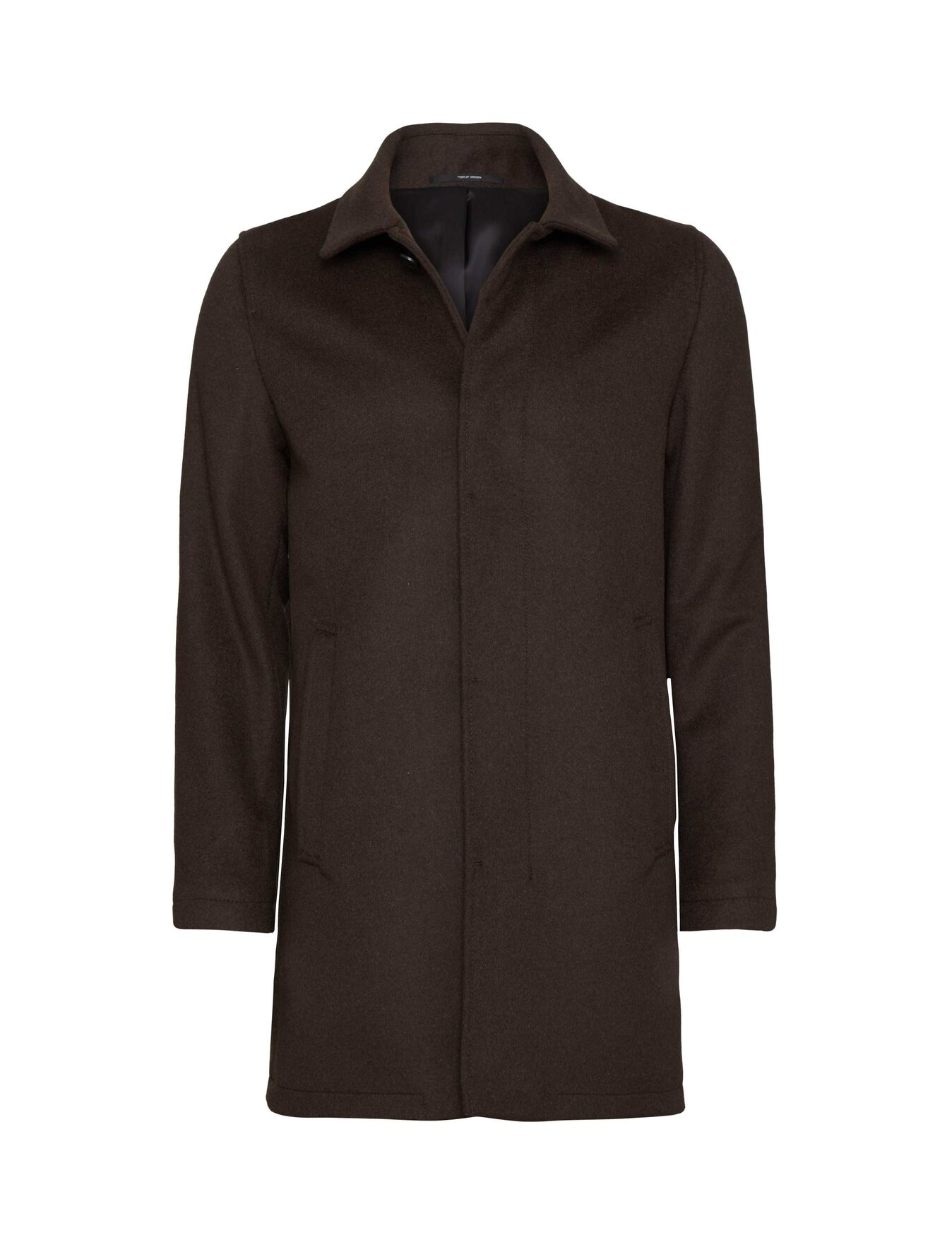 Bruiser15 Coat in Brown from Tiger of Sweden