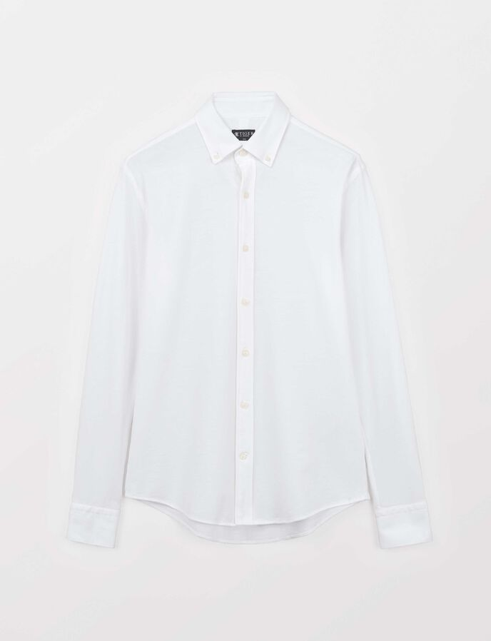 Fenald Shirt in Pure white from Tiger of Sweden