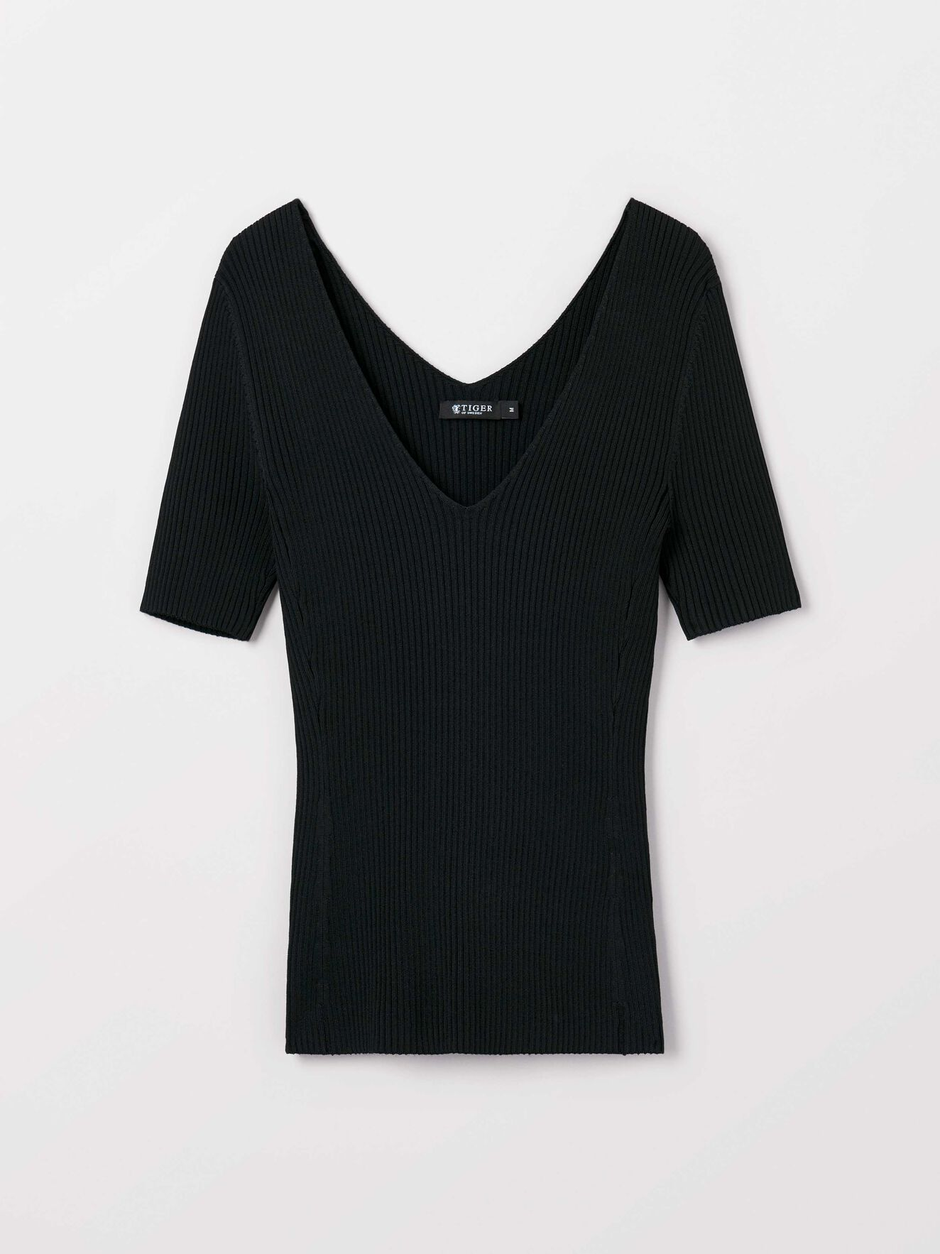 Jeane Top in Midnight Black from Tiger of Sweden