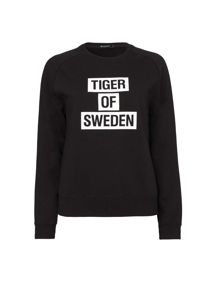 ERIIKA SWEATSHIRT in Black from Tiger of Sweden