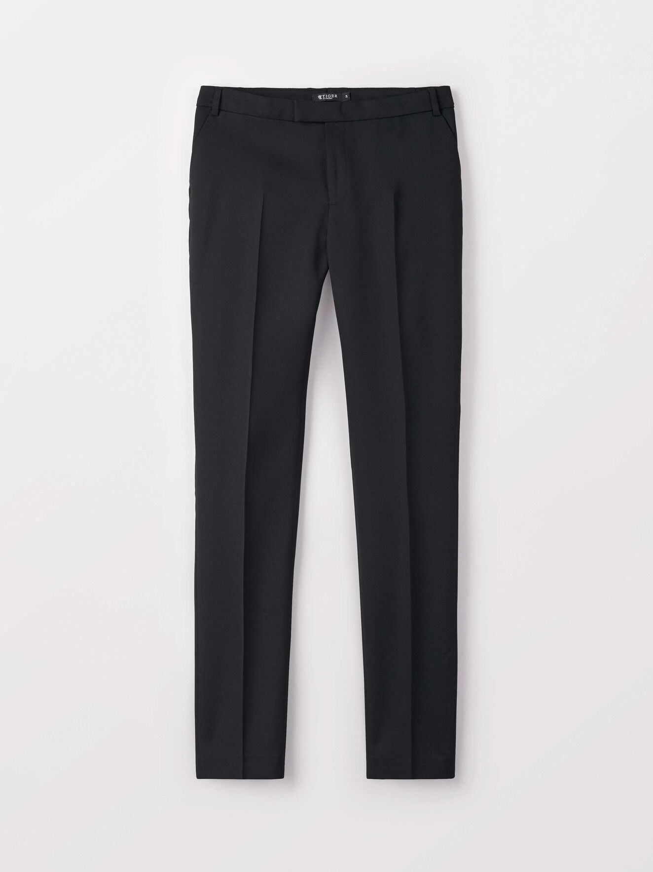 Lovann 5 Trousers in Night Black from Tiger of Sweden