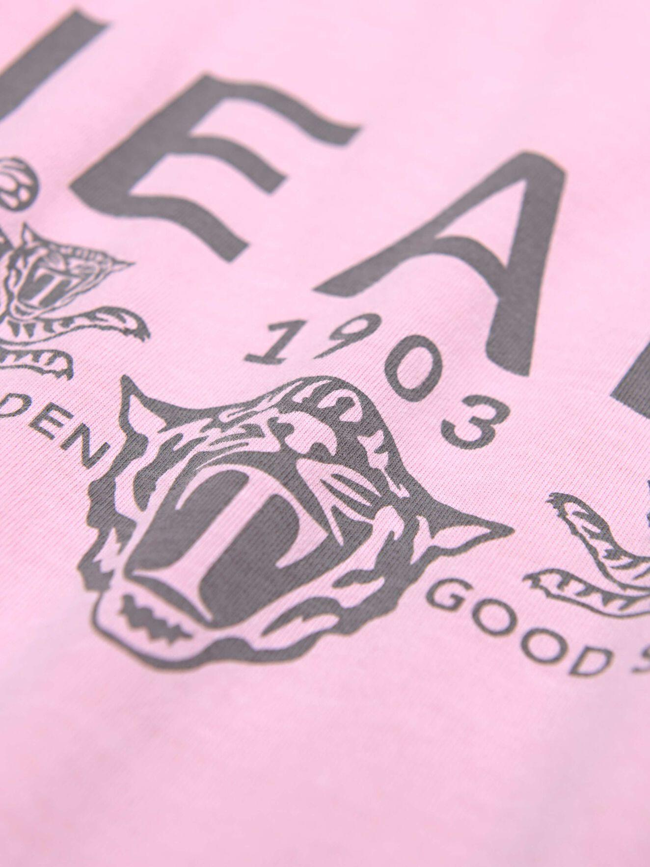 Fleek Pr t-shirt in Blush Pink from Tiger of Sweden