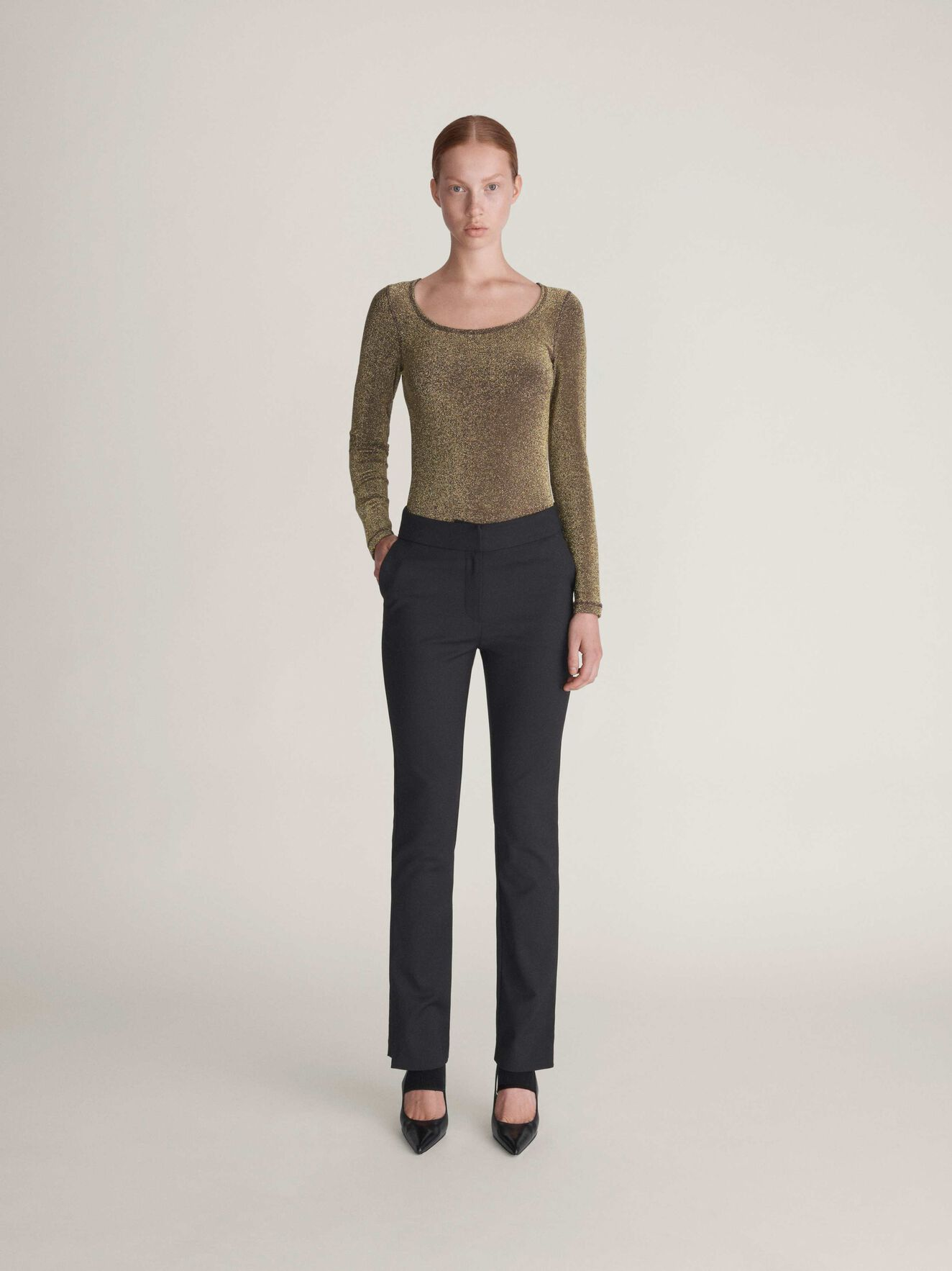 Capella Trousers in Midnight Black from Tiger of Sweden