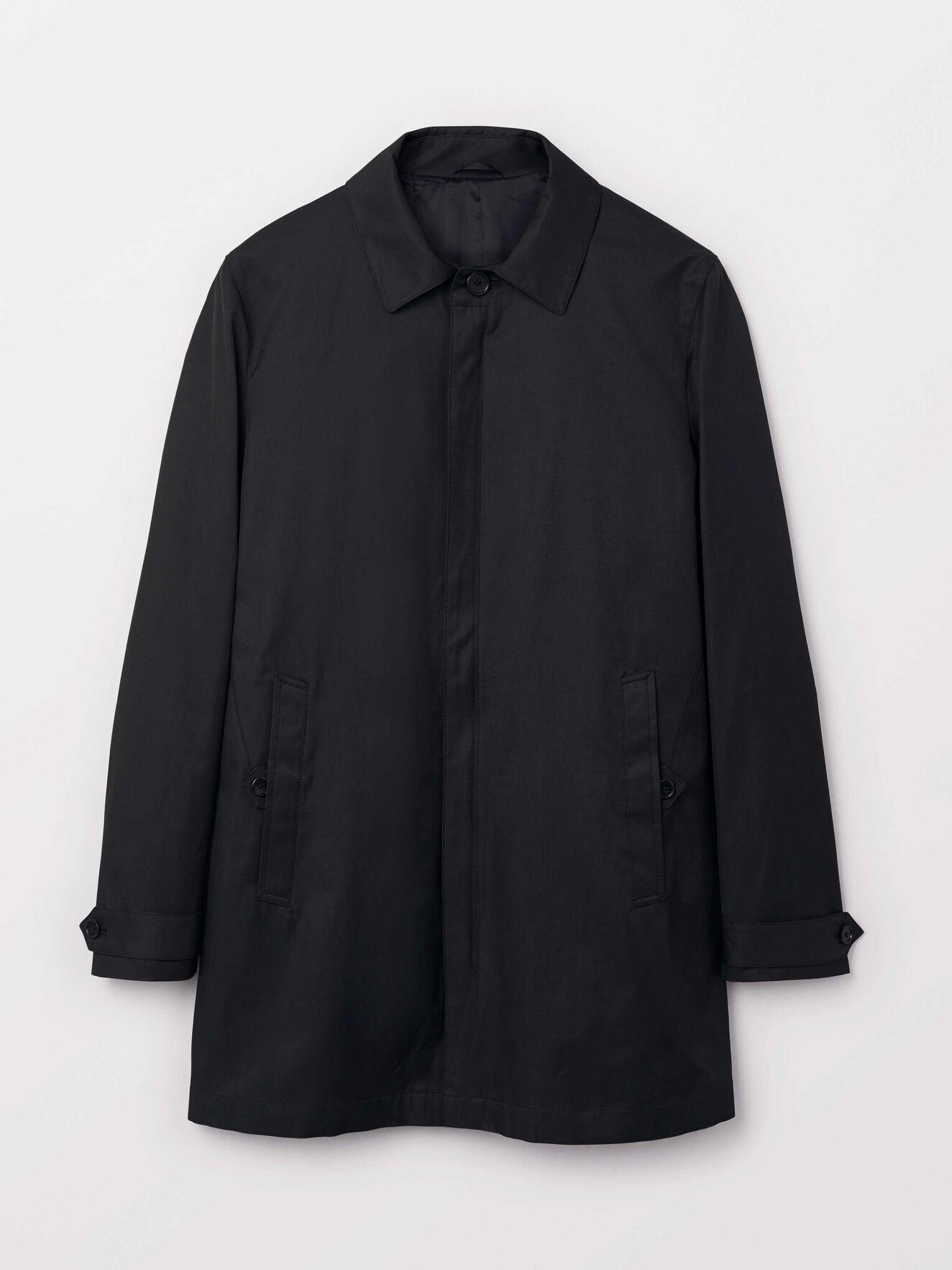 Carred Z Coat in Black from Tiger of Sweden
