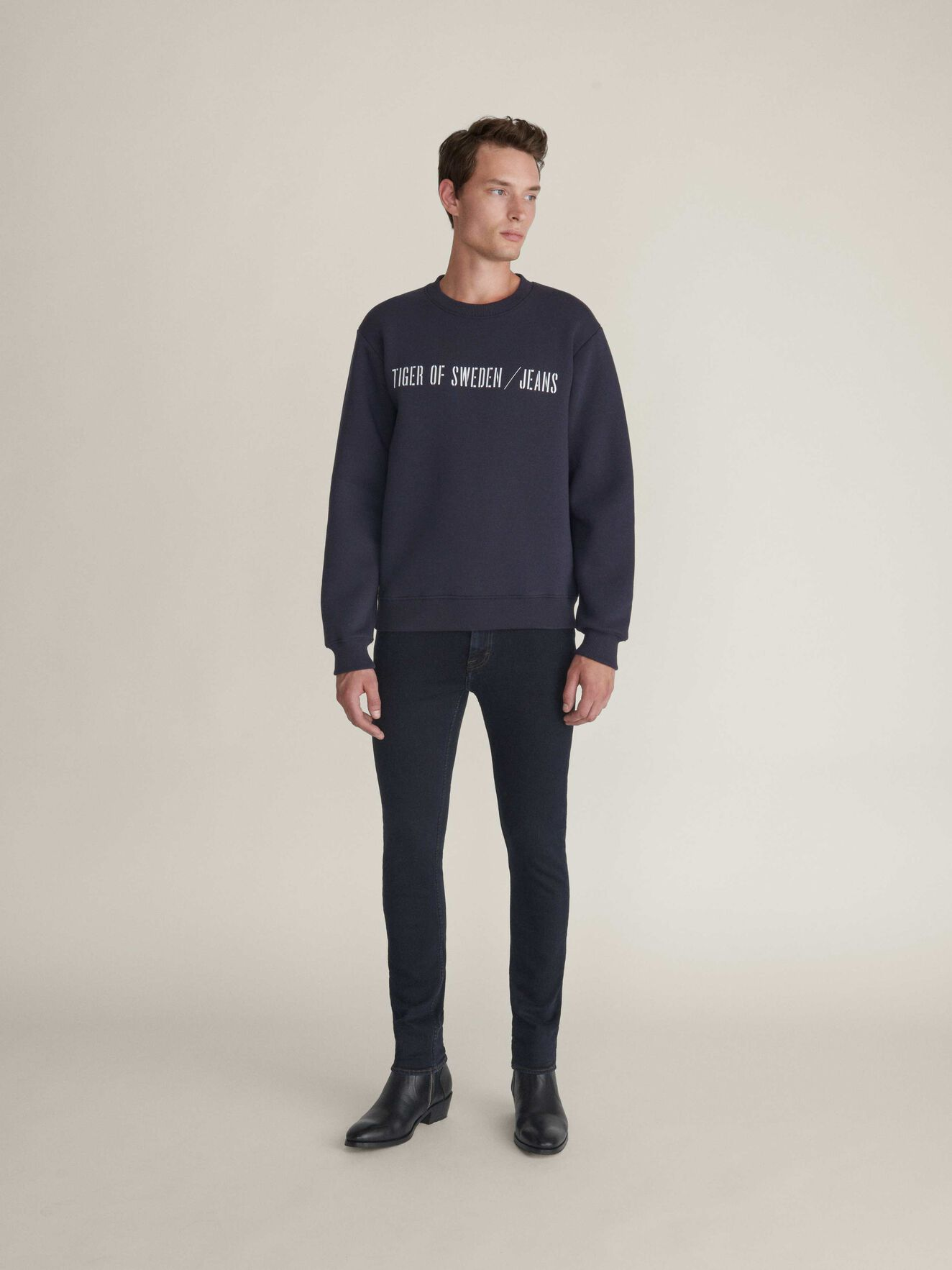 Tana Pr Sweatshirt in Deep Well from Tiger of Sweden