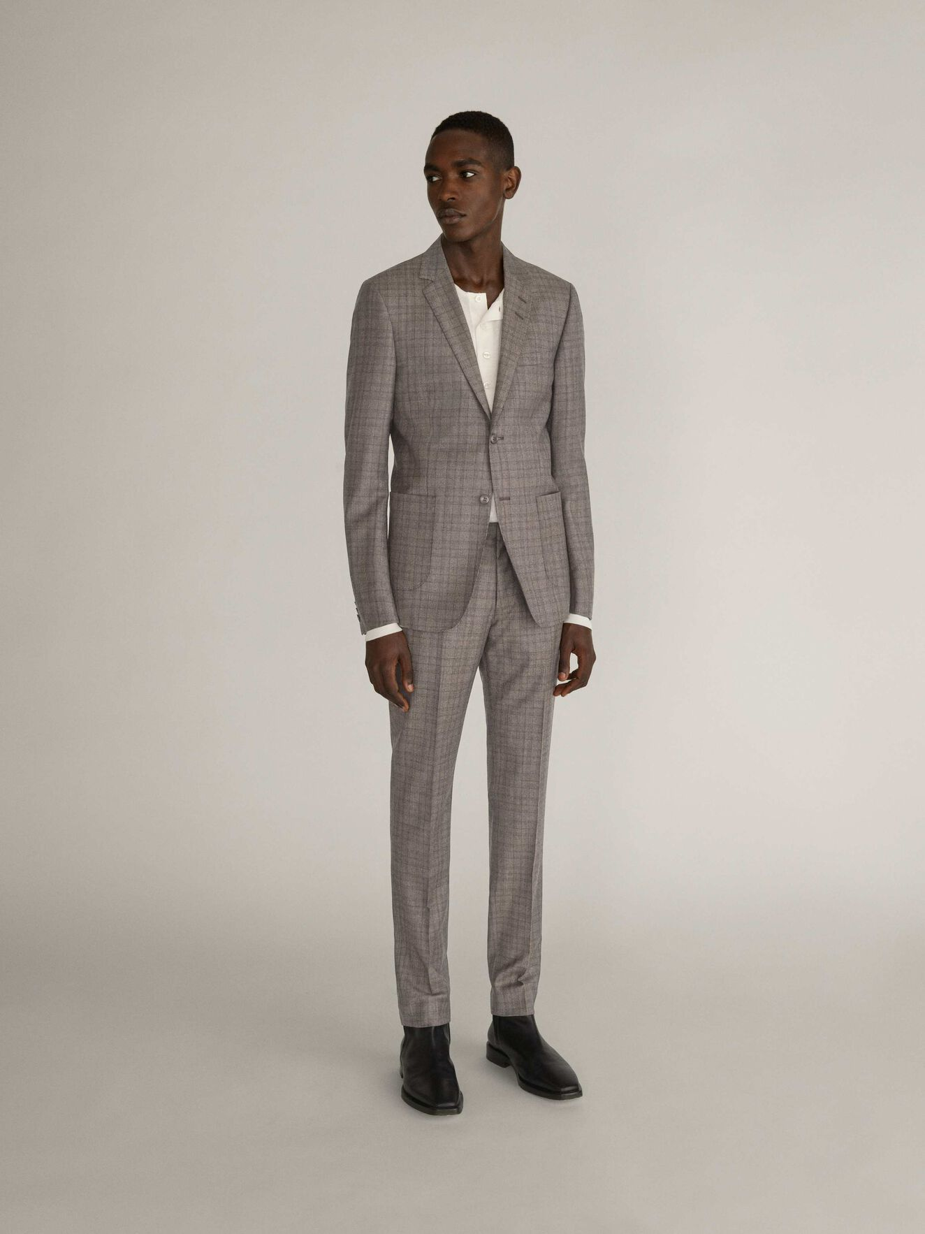 S.2018 Pa Suit in Macchiato from Tiger of Sweden