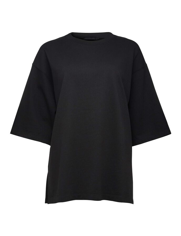 Wench t-shirt in Black from Tiger of Sweden