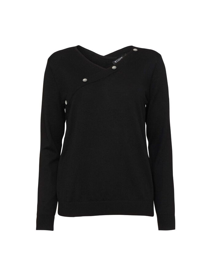 Nerell pullover in Midnight Black from Tiger of Sweden