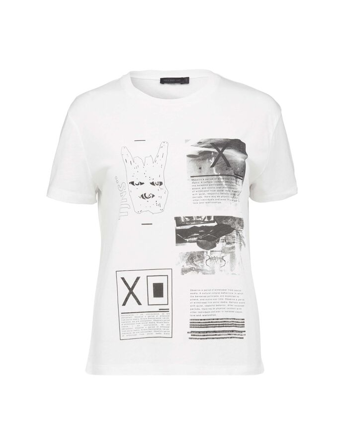 DAWN PR T-SHIRT in White from Tiger of Sweden