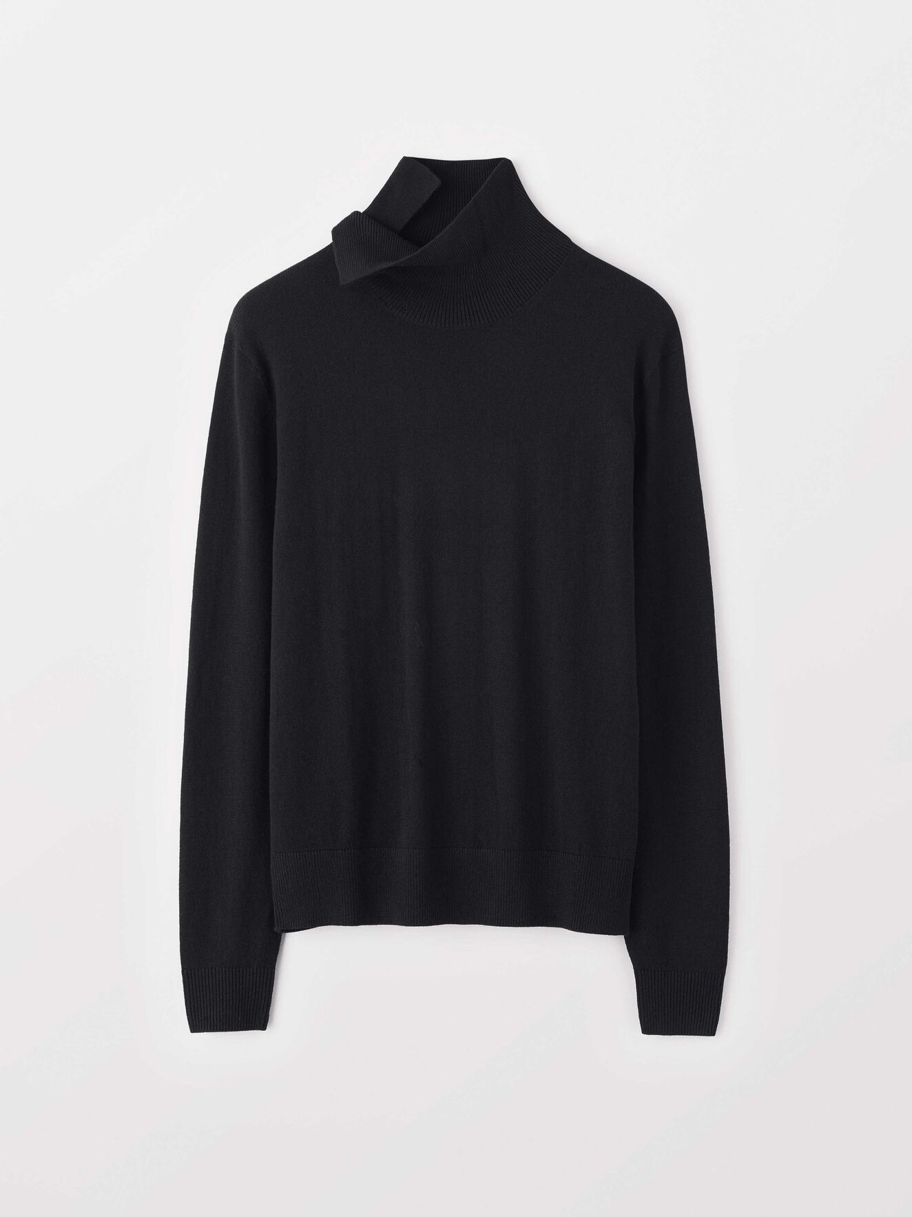 Neander Pullover in Black from Tiger of Sweden
