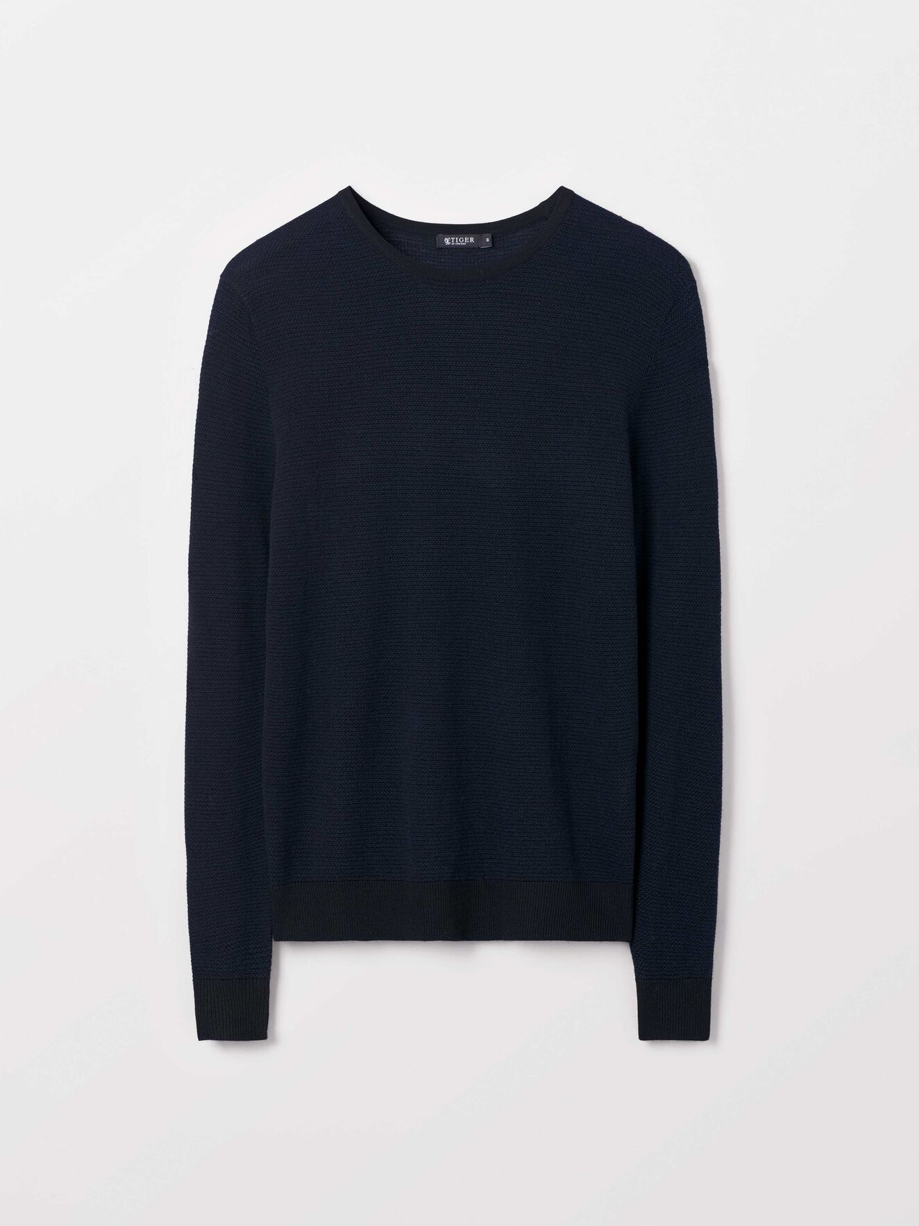 Nawaro Pullover in Black from Tiger of Sweden