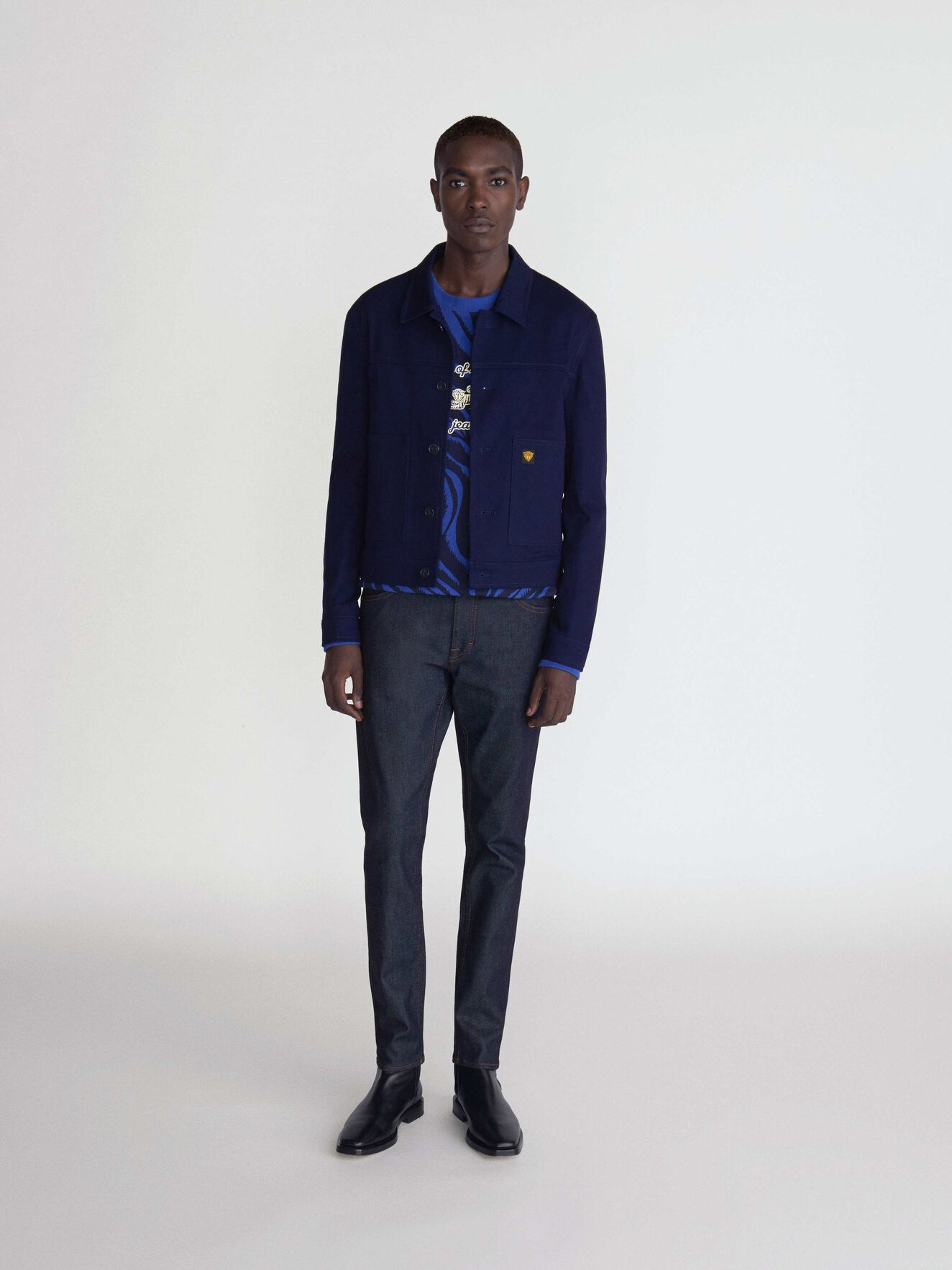 Kasar Jacket in Maritime Blue from Tiger of Sweden