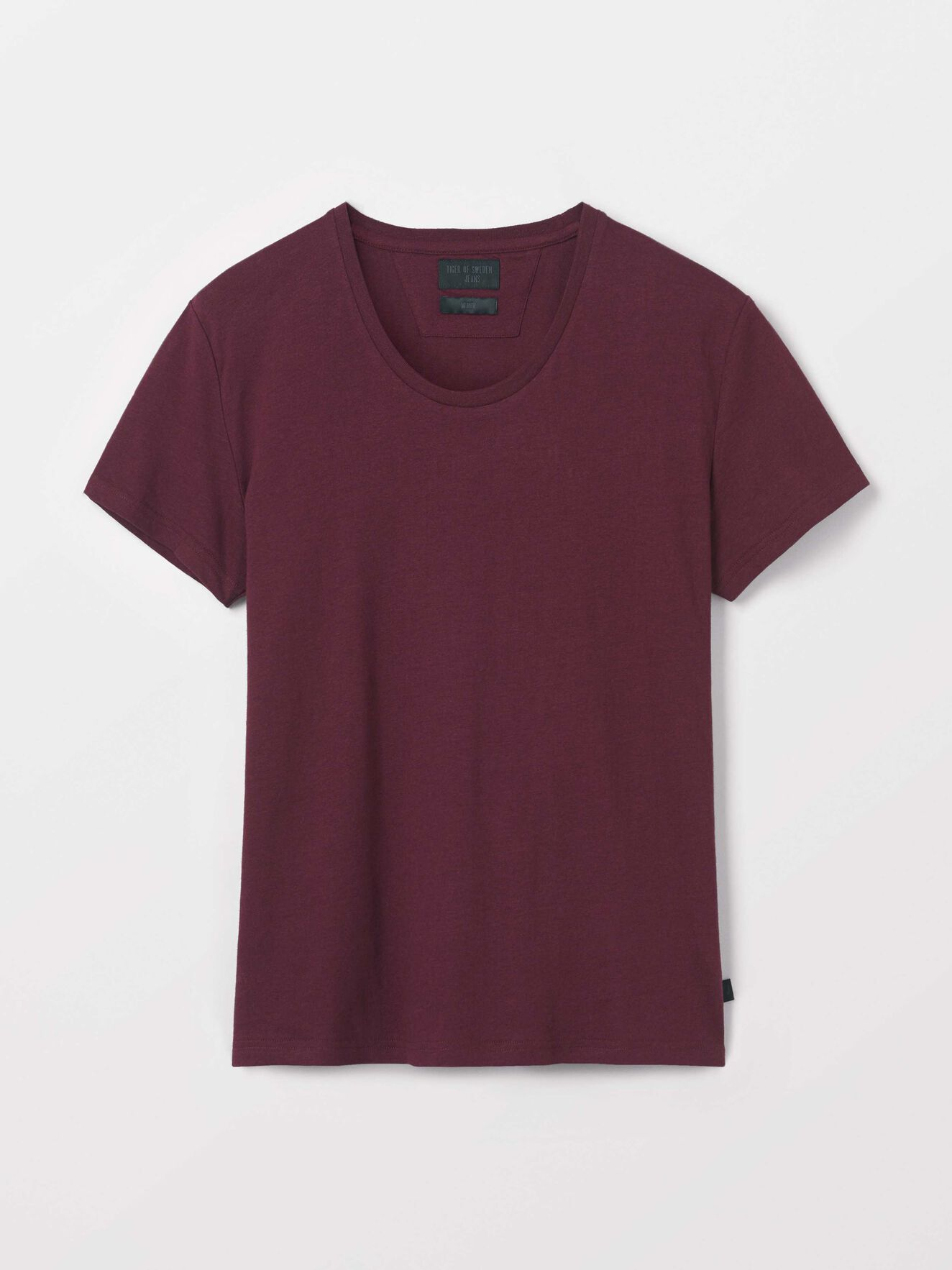 Faxe T-Shirt in Deep Ruby from Tiger of Sweden