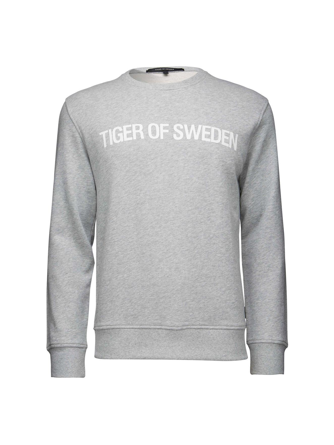 strattford sweatshirt in Plutonium from Tiger of Sweden