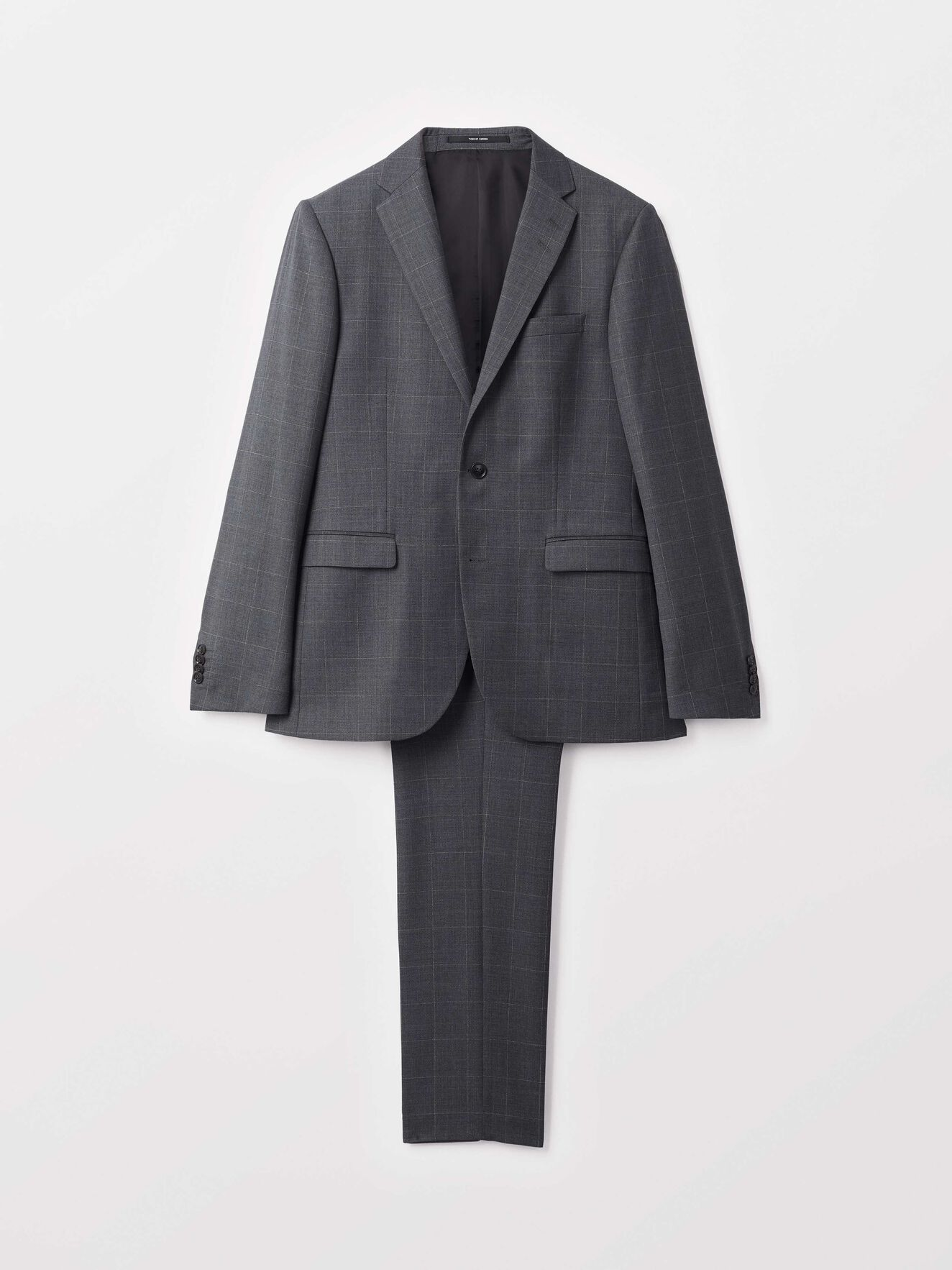 Henrie Suit in Iron Gate from Tiger of Sweden