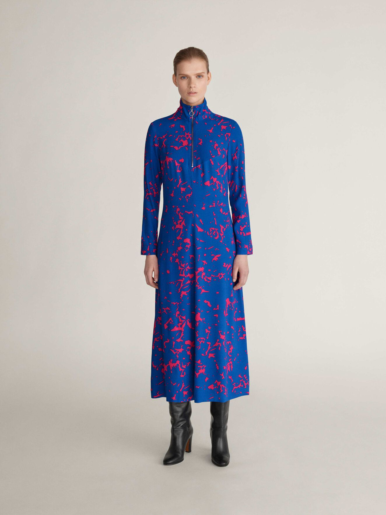 Cupula P Dress in ARTWORK from Tiger of Sweden