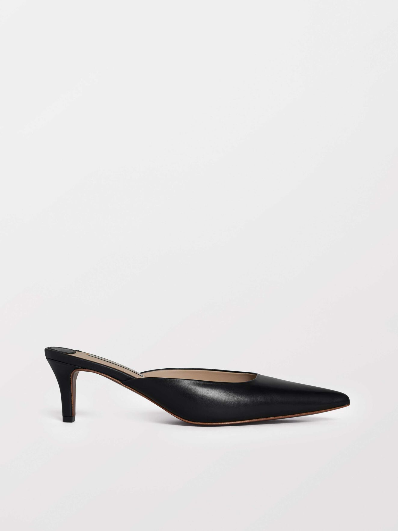 Senti Mules in Black from Tiger of Sweden