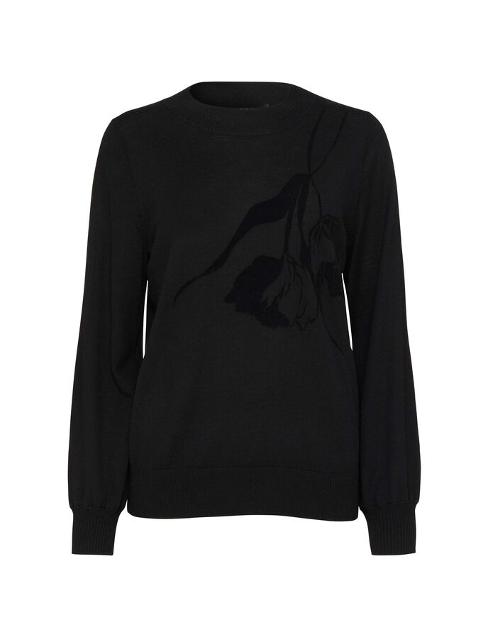 Odyne pullover in Midnight Black from Tiger of Sweden