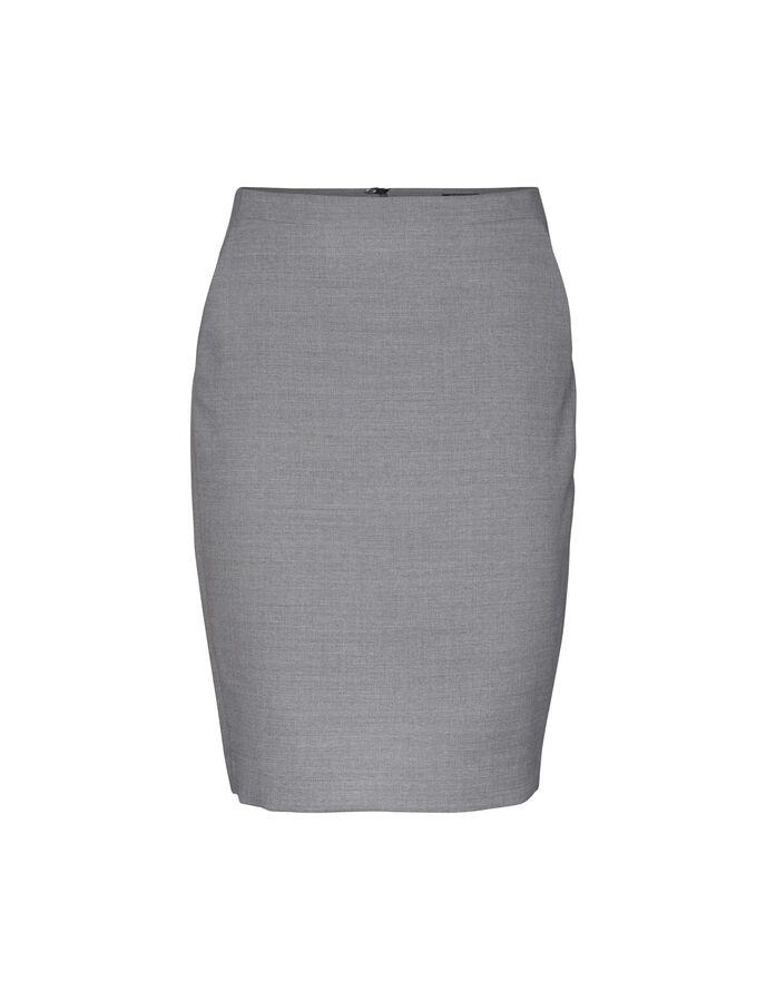 Ariela skirt in Med Grey Mel from Tiger of Sweden