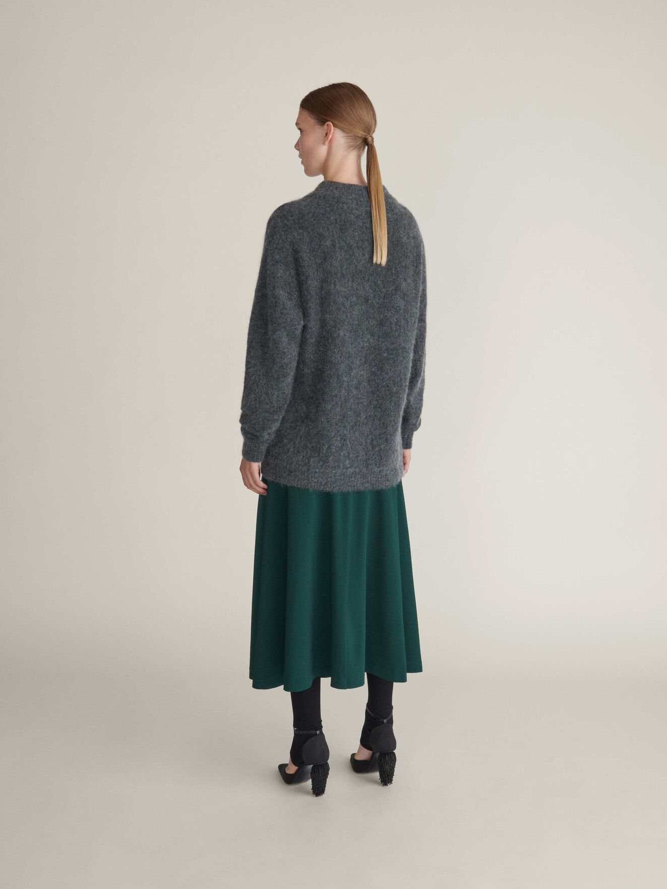Cassio Pullover in Iron Grey from Tiger of Sweden