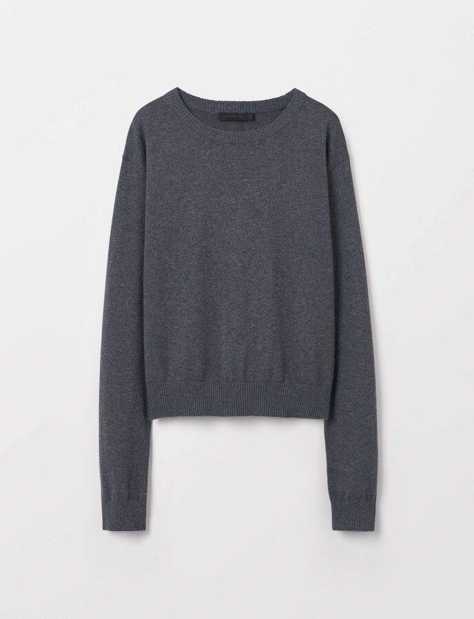 Honest Pullover in Grey melange from Tiger of Sweden
