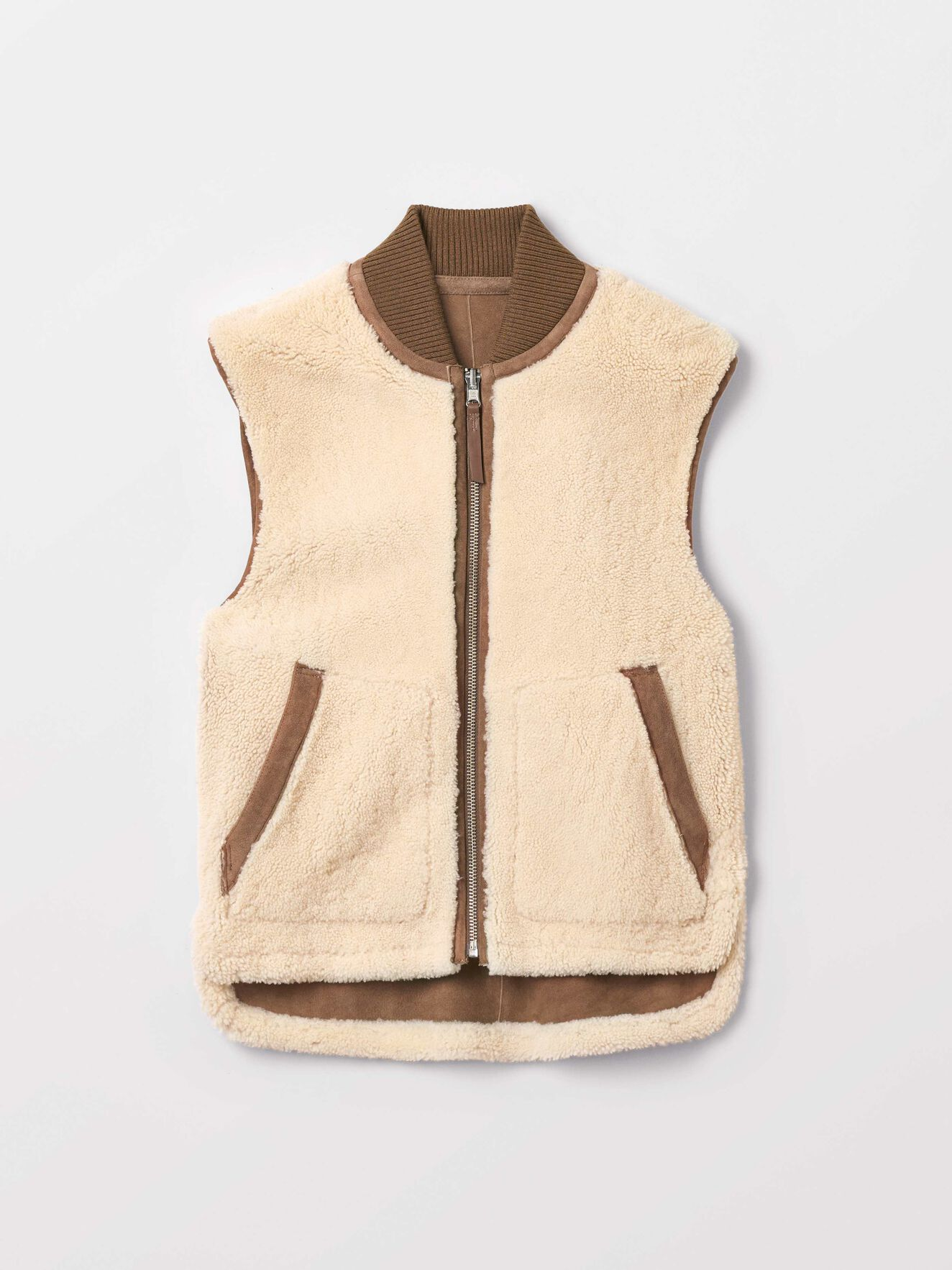 Lamir Vest in Dark Honey from Tiger of Sweden
