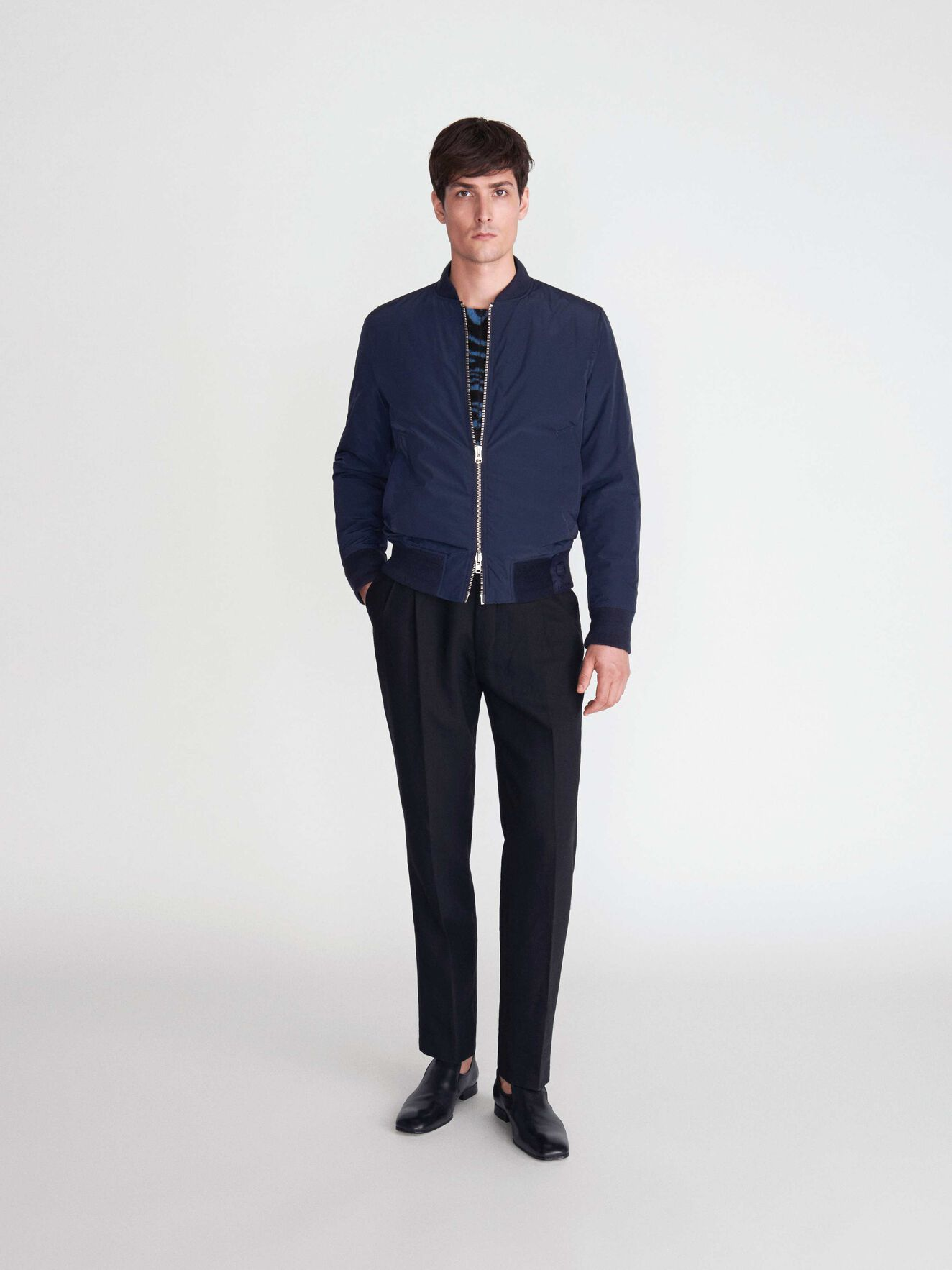 Orland Jacket in Blue from Tiger of Sweden