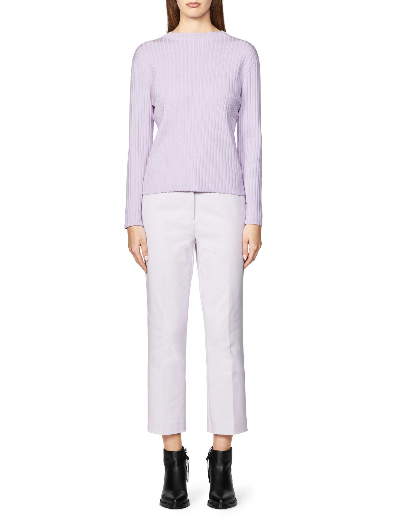 MIRZ TROUSERS in Lavender Blue from Tiger of Sweden