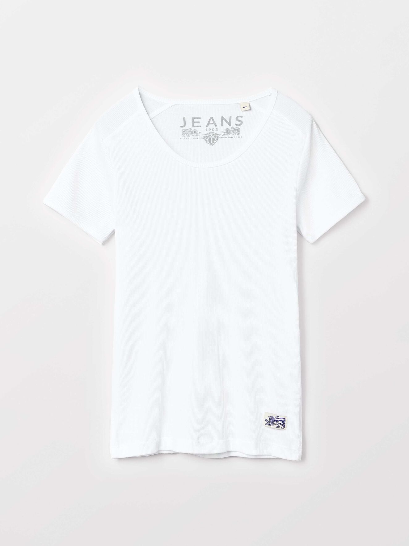 Elvy T-Shirt in White from Tiger of Sweden