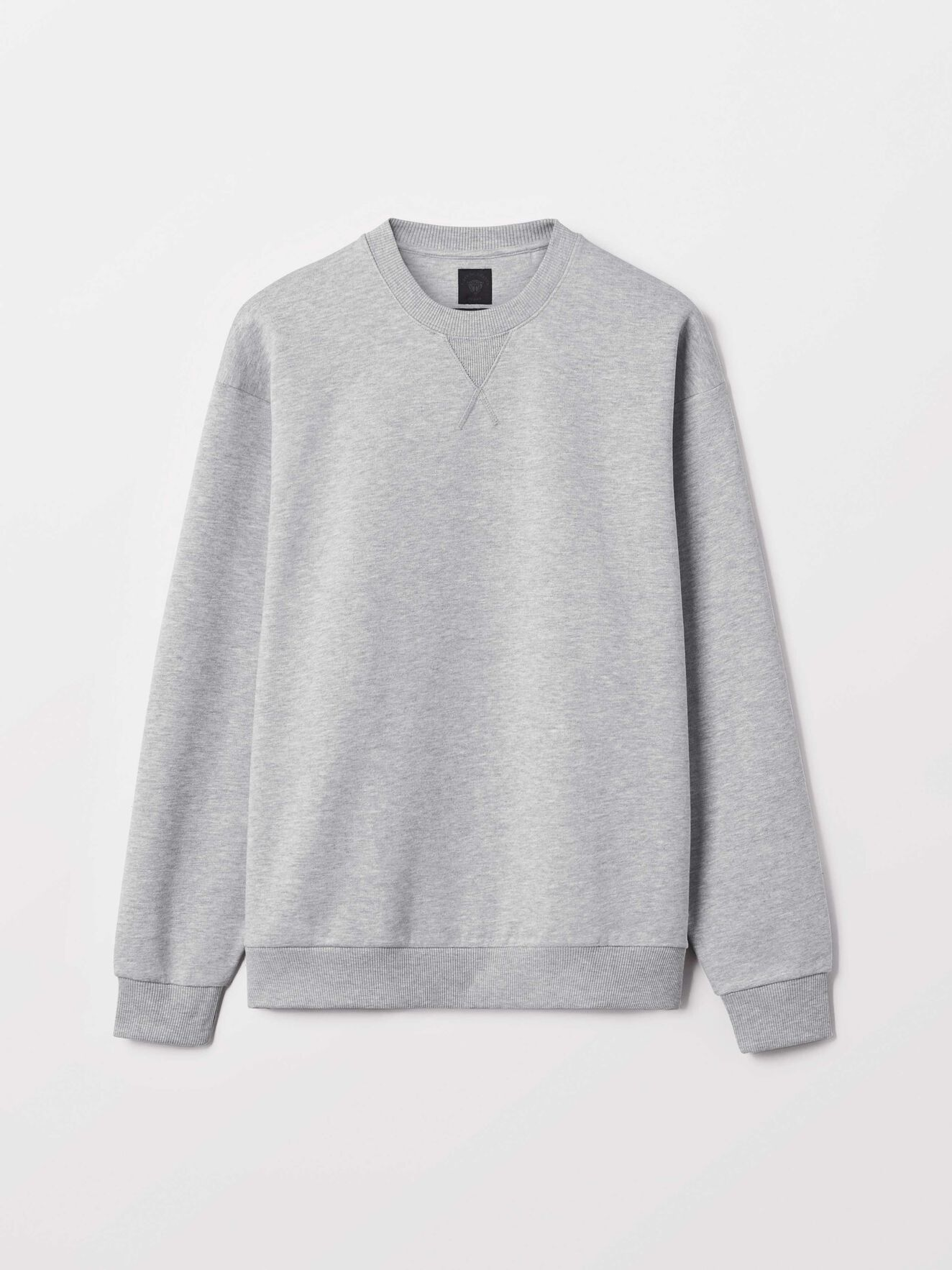 Tom So Sweatshirt in Med Grey Mel from Tiger of Sweden